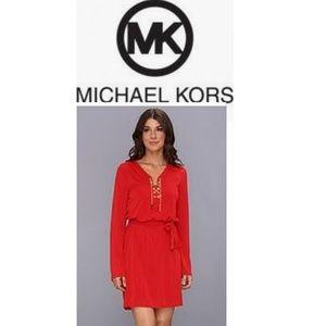 Dresses & Skirts - Michael Kors Gold Chain Tie Dress